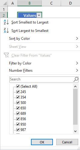 Using Filter 4