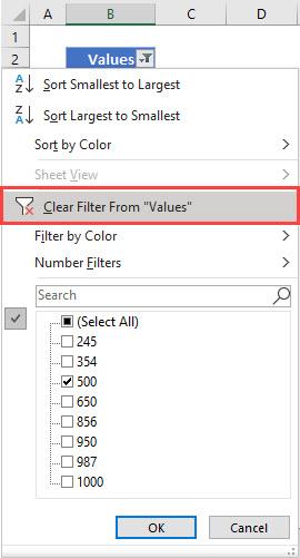 Using Filter 7