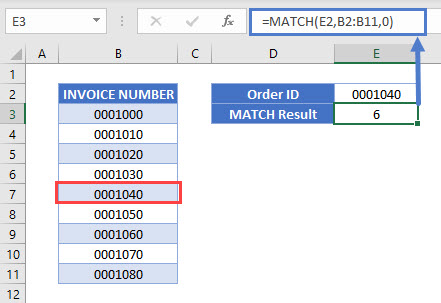 Return Cell Address Instead of Value- Match