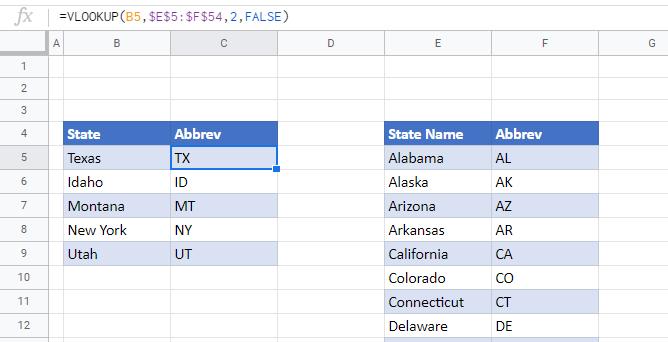 convert state name abbreviation 09
