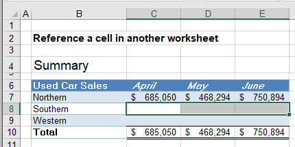 reference cell in another sheet workbook 07