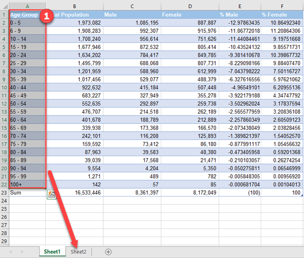 Copy and Paste Data Population