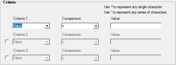 vba code builder criteria