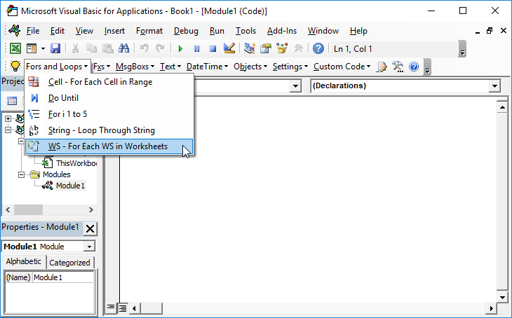 VBA Code Examples for Excel - Automate Excel