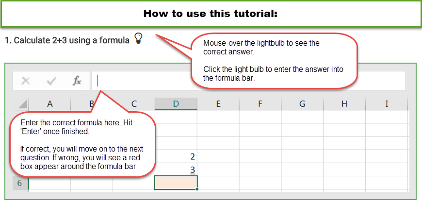 Excel Functions How To