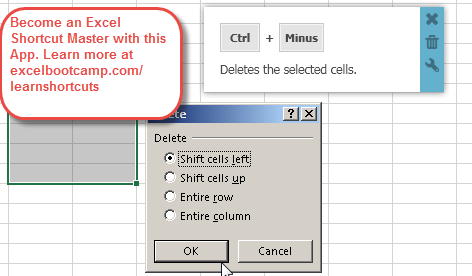 Display Delete Dialog Box