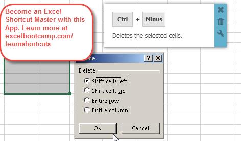 Display Delete Dialog Box