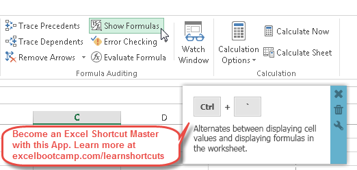 ms excel shortcuts and formulas pdf